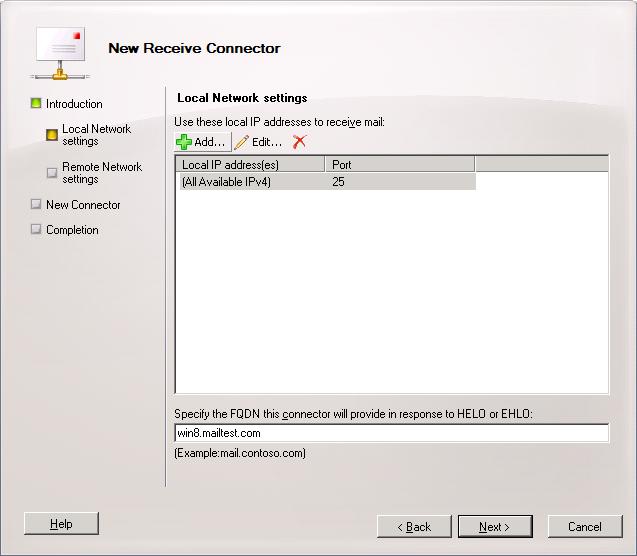 port number - Error 550 5.7.1 Unable to Relay