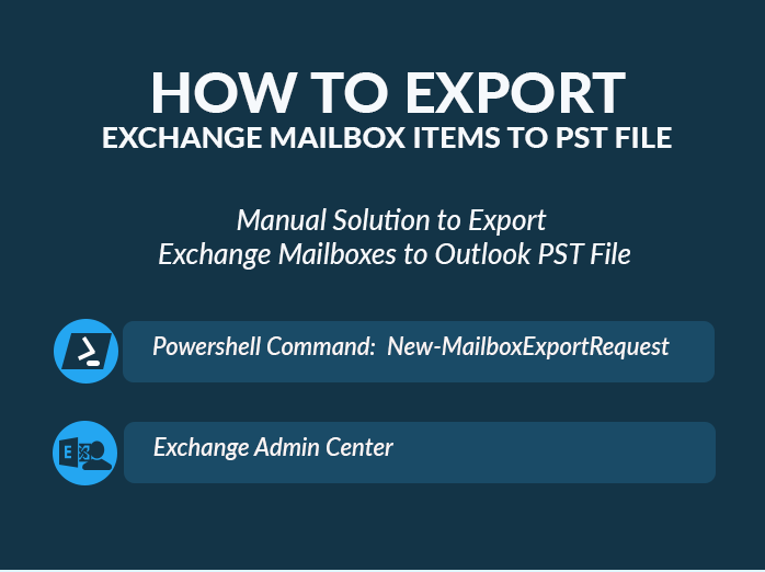 Method to Export Exchange Mailbox to PST