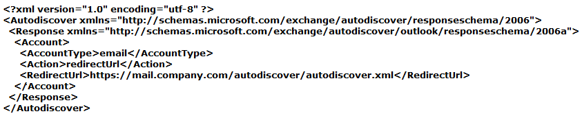 autodiscover in exchange 2016