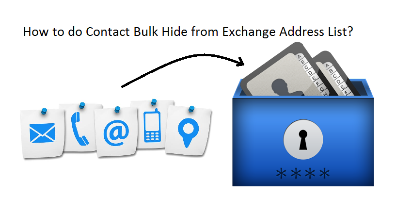 How to do Contact Bulk Hide from Exchange Address List?